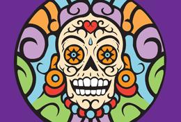 New Dia de los Muertos Logo